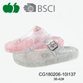 2018 Durable fashion ladys pvc slippers