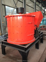 Small Diesel Engine Vertical Combination Crusher stone crusher