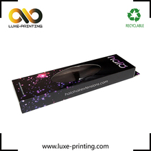 Customized design wig packaging box hair extension packing boxes