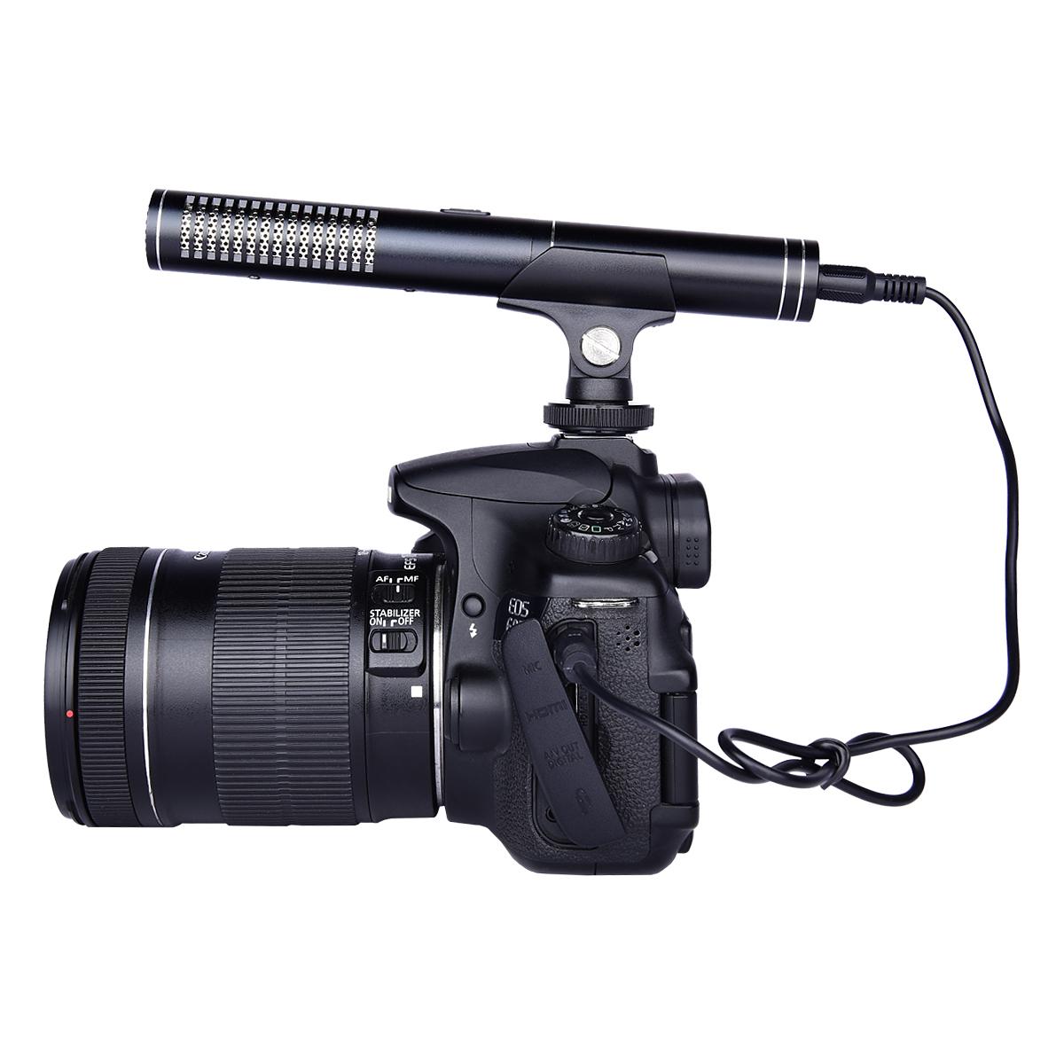 YELANGU Vidéo Micro Directionnel Sur caméra De Poche Microphone pour REFLEX NUMÉRIQUE HD Caméscope et Enregistreur DV - ANKUX Tech Co., Ltd