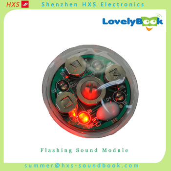 Waterproof Flashing Sound Module for Toys with Led Lights
