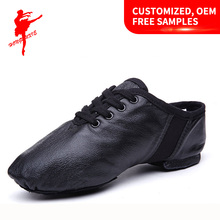 Women's Leather dance shoes Jazz Dance Shoes 1010