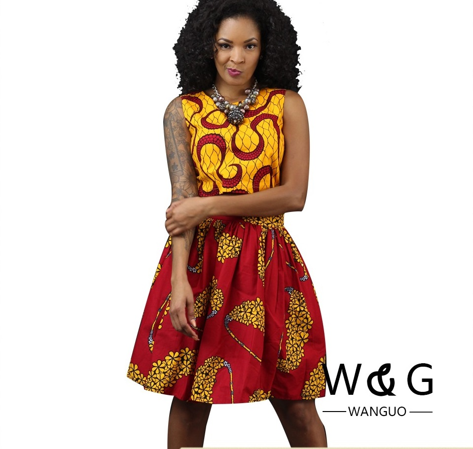 Ethnic Clothing African Clothes Dresses for Women 2018