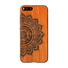 mobile phone accessories,cherry wood+PC Phone Case for xiaomi Mi6 free sample