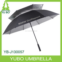 big size double layer UV protection golf umbrella