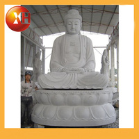 Hand carved buddha statue of protection for garden decoration