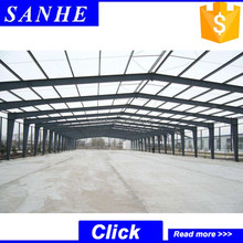 alibaba export china suppliers light steel roof structure for warehouse hangar building