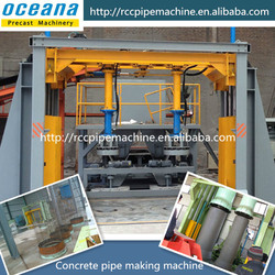 concrete pipe making machine , especially flexible interface and steel socket pipe