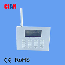 smart gsm & pstn dual network home alarm with 433 or 868MHZ