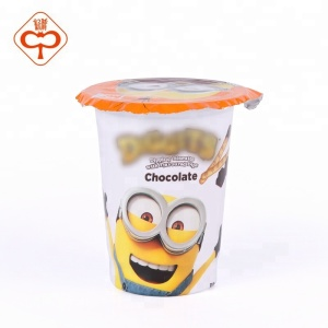 Food packaging aluminum foil lid for yogurt