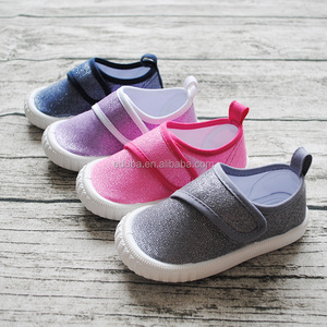 Top Selling Children's School Casual Buckle Canvas Shoes Low Price High Quality