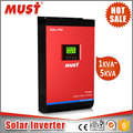High Efficiency MUST Solar Inverter 3000W 48VDC with MPPT solar charger