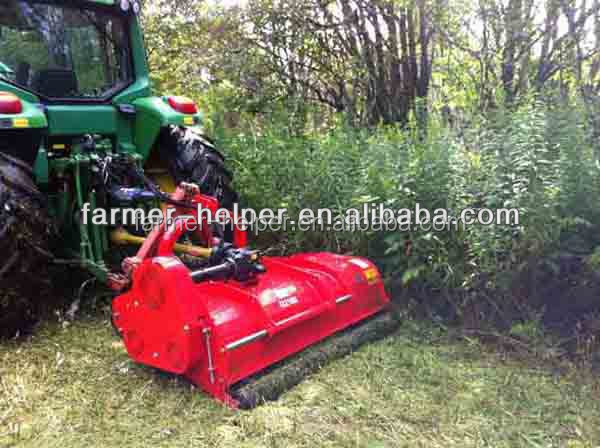 tractor mounted hydraulic verge flail mower duxl-Axle Heavy Mulcher G2