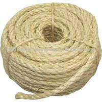 Sisal rope used in factories