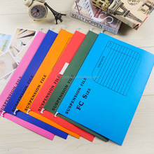 FC size high quality paper Hanging file folder office suspension files