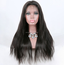 pre plucked full lace human hair 360 lace wigs can wear high ponytails