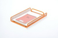 metal desktop organizer iron mesh document tray single level stationery product office desk accessories