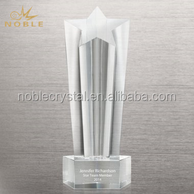 Souvenir Gift Crystal Sports Trophy Shooting Star Trophies