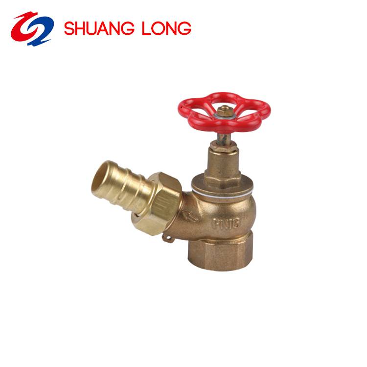 1''--1.5'' Brass High Quality Fire Hydrant Fire Hose Reel Hydrant With Cap