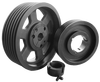 Stock high quality SPB SPZ SPA SPC Belt Pulley with taper bush
