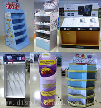 hot sale retail hand soap counter cardboarddisplay stand display pallet display