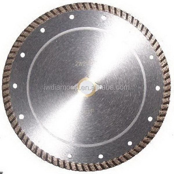 Saw Tools/ Sinter Turbo Diamond Cutting Blades&Customer's Design and Logo are Welcome