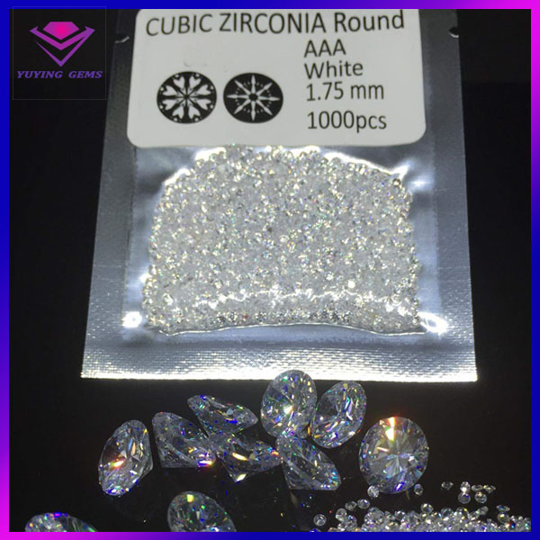 buy synthetic <strong>diamonds</strong> round brilliant shape, AAAAA cz gems, white cubic zirconia