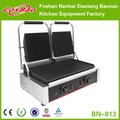 Commercial Large Size Heavy Duty Double Twin Panini Contact Grill Toaster Ribbed/Ribbed BN-813