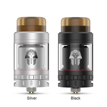 GeekVape Digiflavor Pharaoh Mini RTA with thick 810 drip tip to protect your mouth