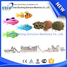 Versatile twin screw extruder ideal for fish aquafeed