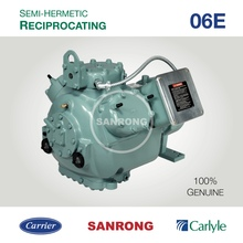 06ER750 06ER765 06ER775 06ER799 Carlyle Carrier 06E 06ER Semi-Hermetic Reciprocating Refrigeration Compressor for R22 R404A