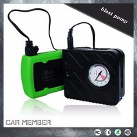 Car Member Portable 12V Electric dragon air pumpair pump for inflatables connect with jump starter for car