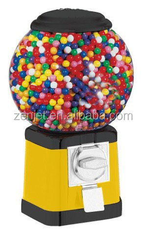 Bouncy ball chinese bubble gum vending machine