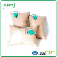 2016 popular ELTETE cheap brown kraft paper dunnage air bag made in China
