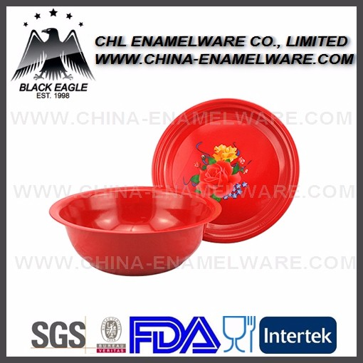 Useful logo printing spray plastic basin