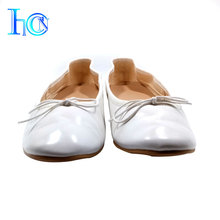 Factory wholesale casual ladies foldable flat shoes