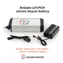 Reliable LiFePO4 electric bicycle battery , electric motorcycle / car battery , electric wheelchair battery