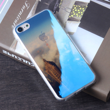 Wholesale newest design case phone cover mobile phones and accessories blue light TPU case for iPhone 6 / 7