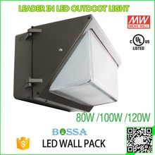 IP65 full cut off LED Wall Pack Lighting hot selling UL cUL CE& ROHS led wall pack light with photocell