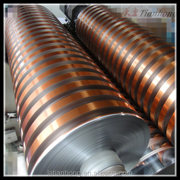 big spool tray product copper widely use and roll type colored aluminum foil