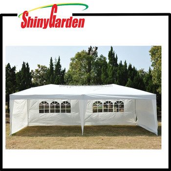 Outdoor Garden 3x6m Easy Pop Up Canopy Party Tent with 4 Removable Sidewalls or unremovable sidewalls