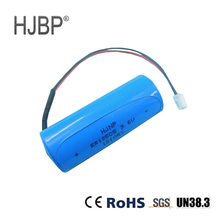 hot sale HJBP ER18505 3.6V LiSOCl2 non-rechargeable Lithium primary battery