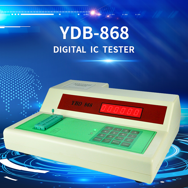Universal YBD-868 Digital IC <strong>Tester</strong> with RoHS certified