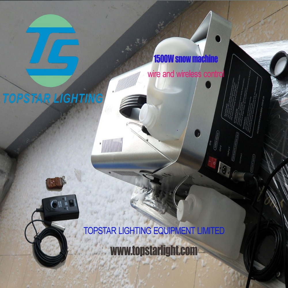 large snow machine Good quality and well effect 1500w indoor snow machine