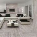 Italy design mordern grey color glazed full body porcelain floor tile