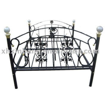 elegante metall doppelbett metalbett produkt id 239939707. Black Bedroom Furniture Sets. Home Design Ideas