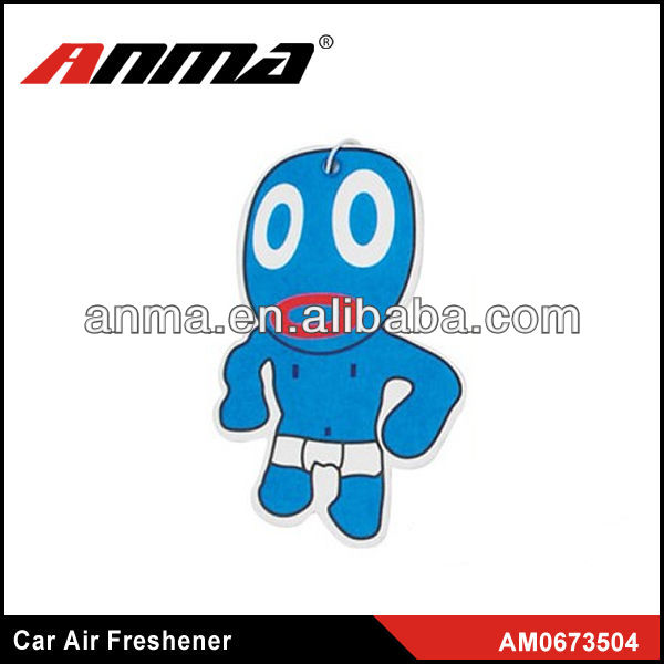 Nice anima cartoon shape car paper air freshener flavour & fragrance air fresheners car freshener