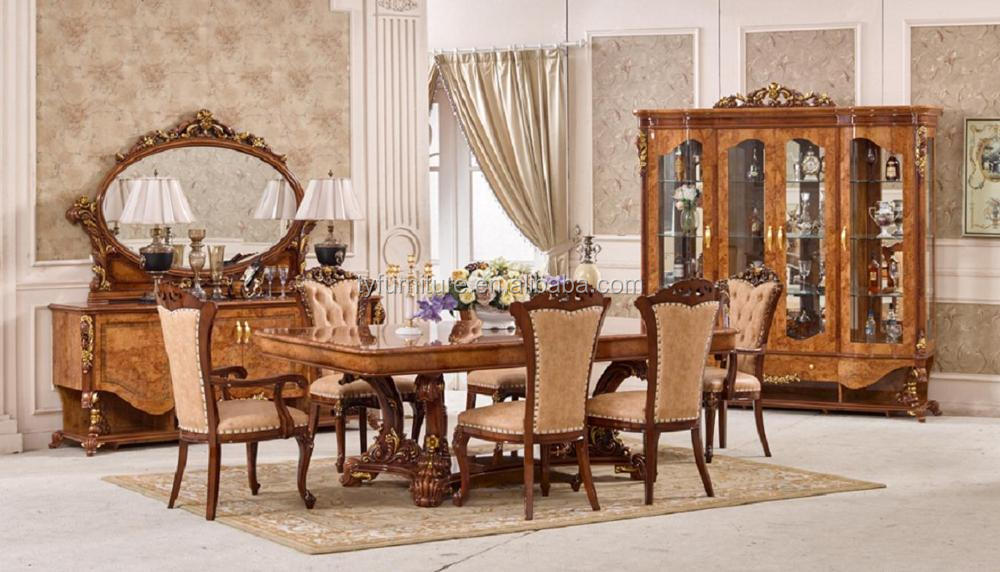 Dining Sets Furniture / Luxury Italian Diningroom