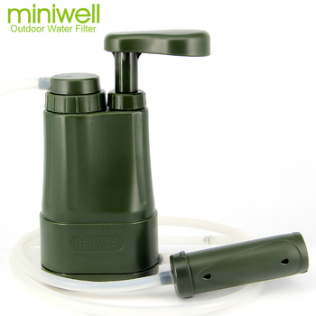 portable water filter/army personnel/ military water purification/camping hiking fishing,trekking survival equipment