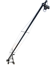 Remote 2 axis PT head professional jimmy jib Video Camera Crane for sale